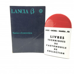 NOTICE D ENTRETIEN LANCIA BETA 1980