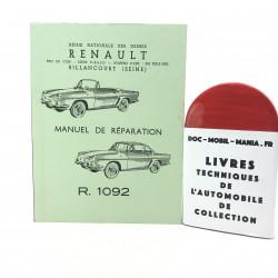 MANUEL DE REPARATION RENAULT FLORIDE R1092