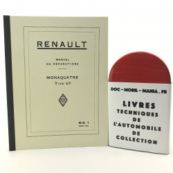 MANUEL DE REPARARTION RENAULT MONAQUATRE