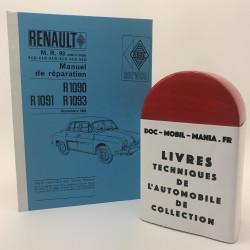 MANUEL D ATELIER RENAULT DAUPHINE MR 93