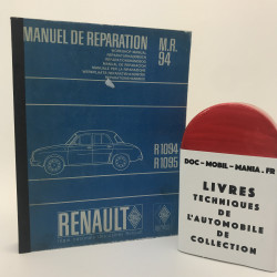 MANUEL D ATELIER RENAULT DAUPHINE MR 94