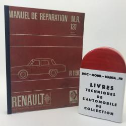MANUEL D ATELIER RENAULT 10