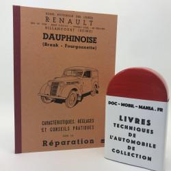 MANUEL D ATELIER RENAULT DAUPHINOISE