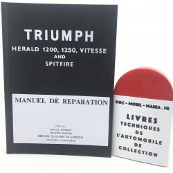MANUEL DE REPARATION TRIUMPH SPITFIRE