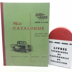 CATALOGUE DES PIECES LAND ROVER SERIE II & IIA