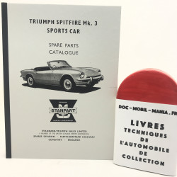 CATALOGUE DE PIECES TRIUMPH SPITFIRE MK3