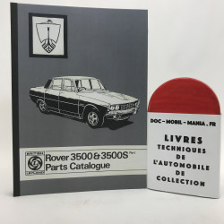 CATALOGUE DES PIECES ROVER 3500
