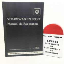 MANUEL D'ATELIER VW 1500 TYPE 3