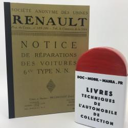 MANUEL D'ATELIER RENAULT NN