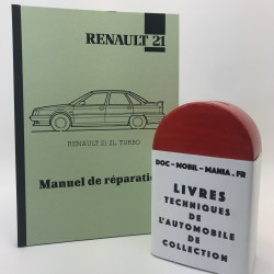 MANUEL DE REPARATION RENAULT 21 2 L TURBO
