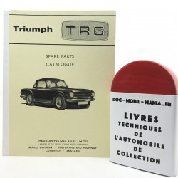 CATALOGUE DE PIECES TRIUMPH TR6