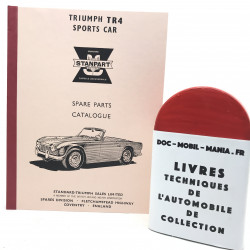 CTALOGUE DES PIECES TRIUMPH TR4