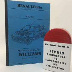 MANUEL DE REPARATION RENAULT CLIO WILLIAMS