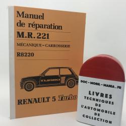 MANUEL D ATELIER RENAULT 5 TURBO