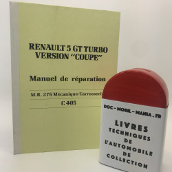 MANUEL DE REPARATION RENAULT SUPER 5 GT TURBO COUPE