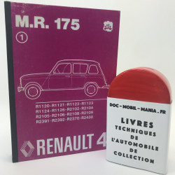 MANUEL DE REPARATION RENAULT 4 MR 175