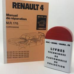 MANUEL DE REPARATION CARROSSERIE RENAULT 4