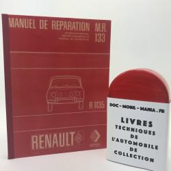 MANUEL DE REPARATION RENAULT 8 GORDINI R 1135