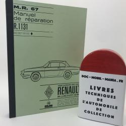 MANUEL DE REPARATION RENAULT CARAVELLE R 1131