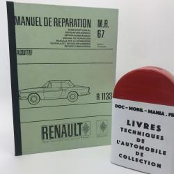 MANUEL DE REPARATION RENAULT CARAVELLE R 1133