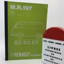 MANUEL DE REPARATION RENAULT ESTAFETTE