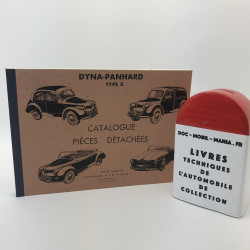 CATALOGUE DE PIECES DETACHEES PANHARD DYNA X