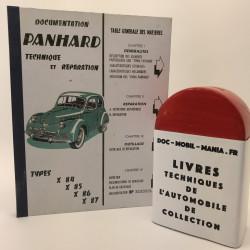 MANUEL DE REPARATION PANHARD DYNA X
