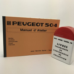 MANUEL D ATELIER PEUGEOT 504