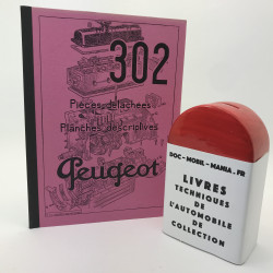 CATALOGUE DE PIECES DETACHEES PEUGEOT 302