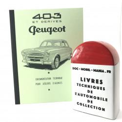 MANUEL D ATELIER PEUGEOT 403