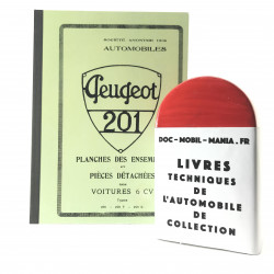 CATALOGUE DES PIECES DETACHEES PEUGEOT 201