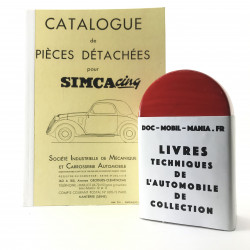 CATALOGUE DE PIECES SIMCA CINQ