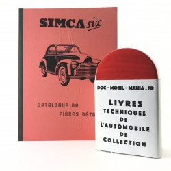 CATALOGUE DE PIECES DETACHEES SIMCA SIX