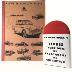MANUEL DE REPARATION SIMCA ARONDE