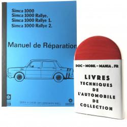 MANUEL DE REPARATION SIMCA 1000