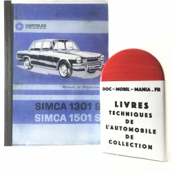 MANUEL DE REPARATION SIMCA 1301 S et  1501S