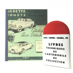 CATALOGUE DE PIECES FORD VEDETTE -COMETE