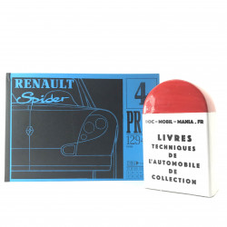 CATALOGUE DE PIECES DETACHEES RENAULT SPIDER