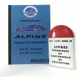 MANUEL DE REPARATION ALPINE A610 TURBO