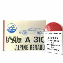 CATALOGUE DES PIECES ALPINE A310 1600