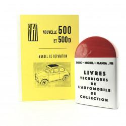 MANUEL D ATELIER FIAT 500