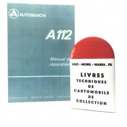 MANUEL DE REPARATION AUTOBIANCHI A112
