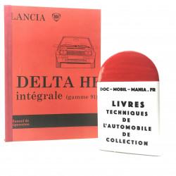 MANUEL DE REPARATION LANCIA DELTA INTEGRALE 1991