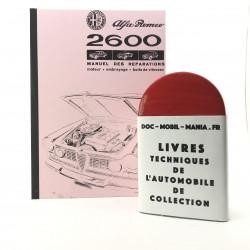 MANUEL DE REPARATION ALFA ROMEO 2600