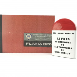 CATALOGUE DE PIECES DETACHEES LANCIA FLAVIA COUPE