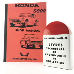 MANUEL D ATELIER HONDA S800