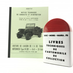 MANUEL TECHNIQUE JEEP HOTCHKISS 24 VOLTS
