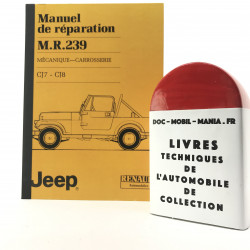 MANUEL DE REPARATION JEEP CJ7