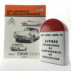 ARCHIVES DU COLLECTIONNEUR CITROEN DS 19  - ID 19