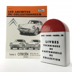 ARCHIVES DU COLLECTIONNEUR CITROEN DS 19 - 20 -21